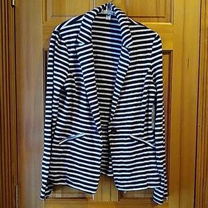 Caslon women's stripped jacket